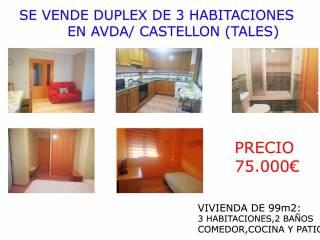 Foto - Piso de tres habitaciones Avenida Castellón 30, Tales