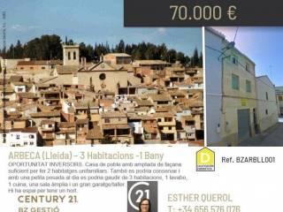 Foto - Casa rústica, a reformar, Arbeca
